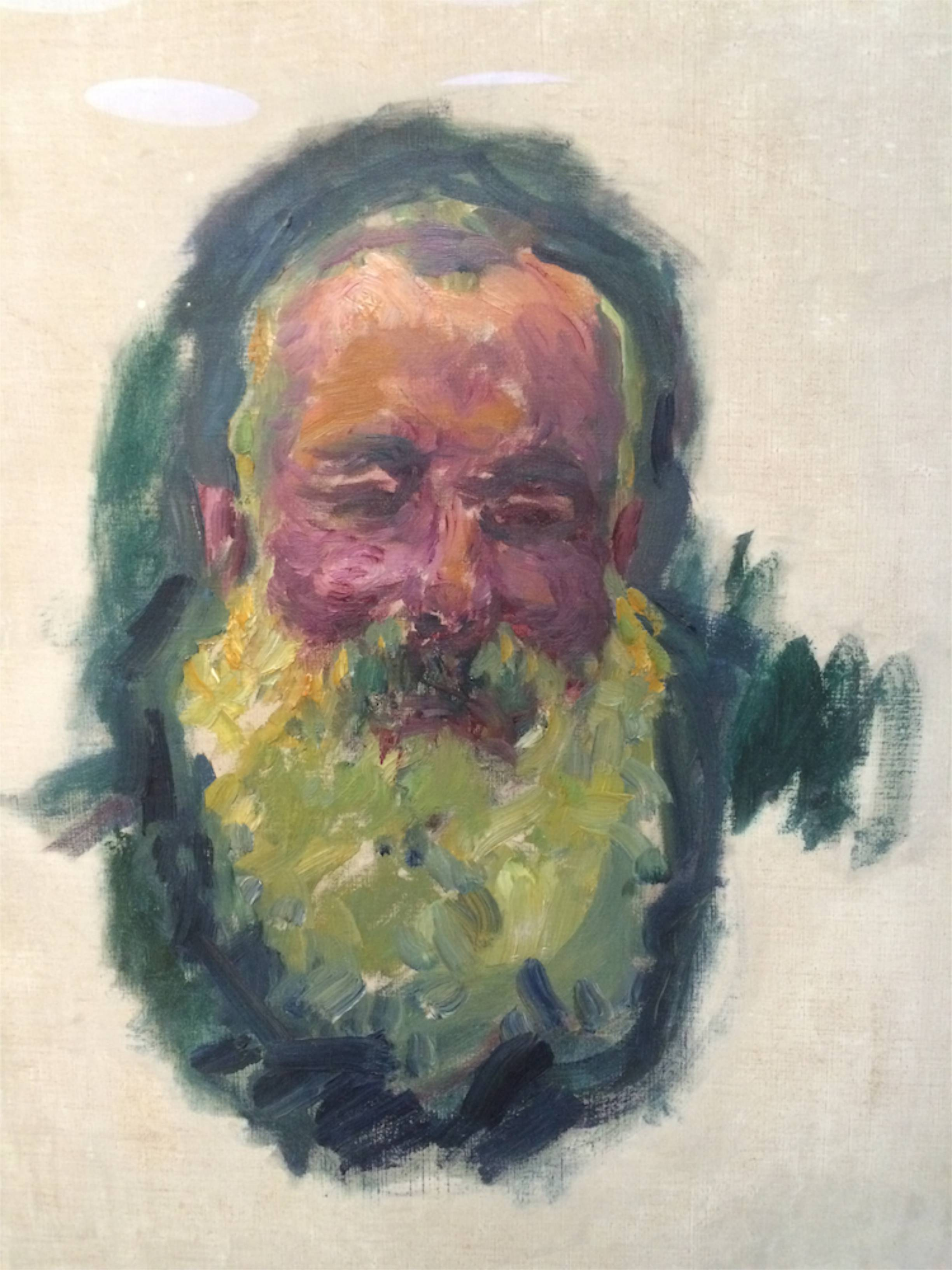 Figura 12. Claude Monet, Portrait de l'artiste