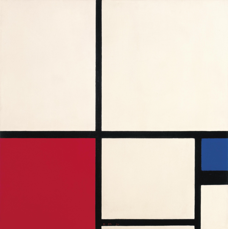 Figura 11. Piet Mondrian, Composição