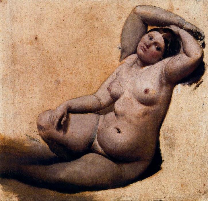 Figura 19 - J.-A.-D. Ingres. Estudos para O banho turco. Montauban, Musée Ingres.