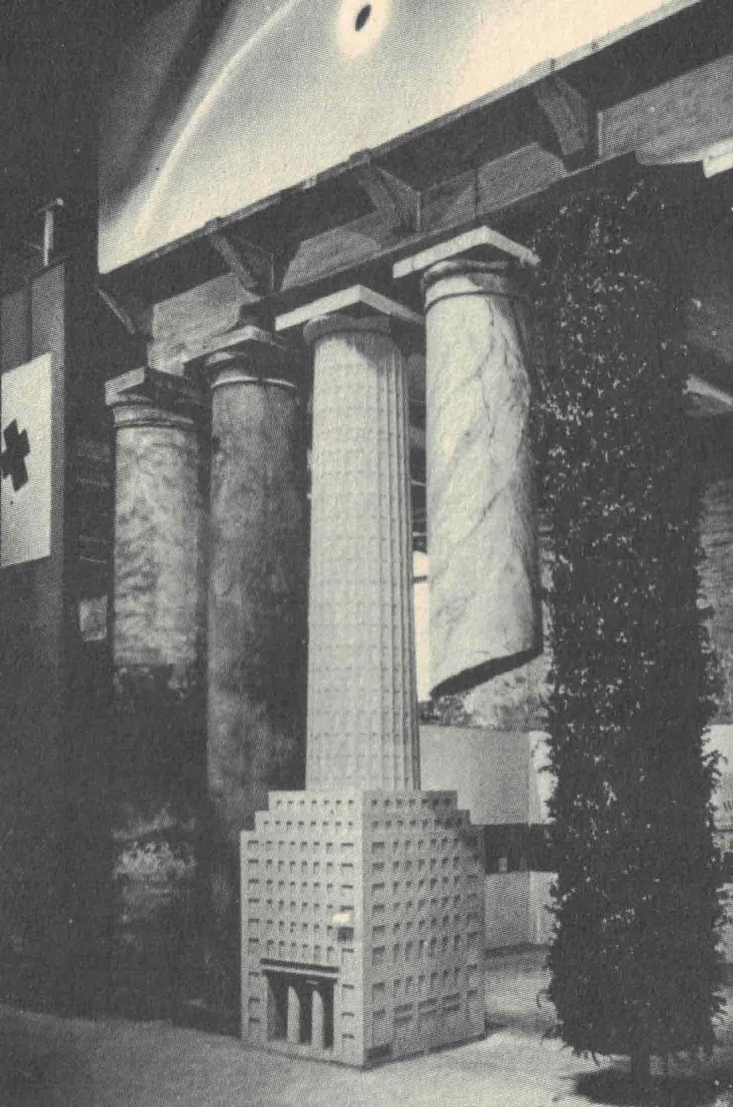 Figura 4. Hans Hollein, Fachada na Strada Novissima