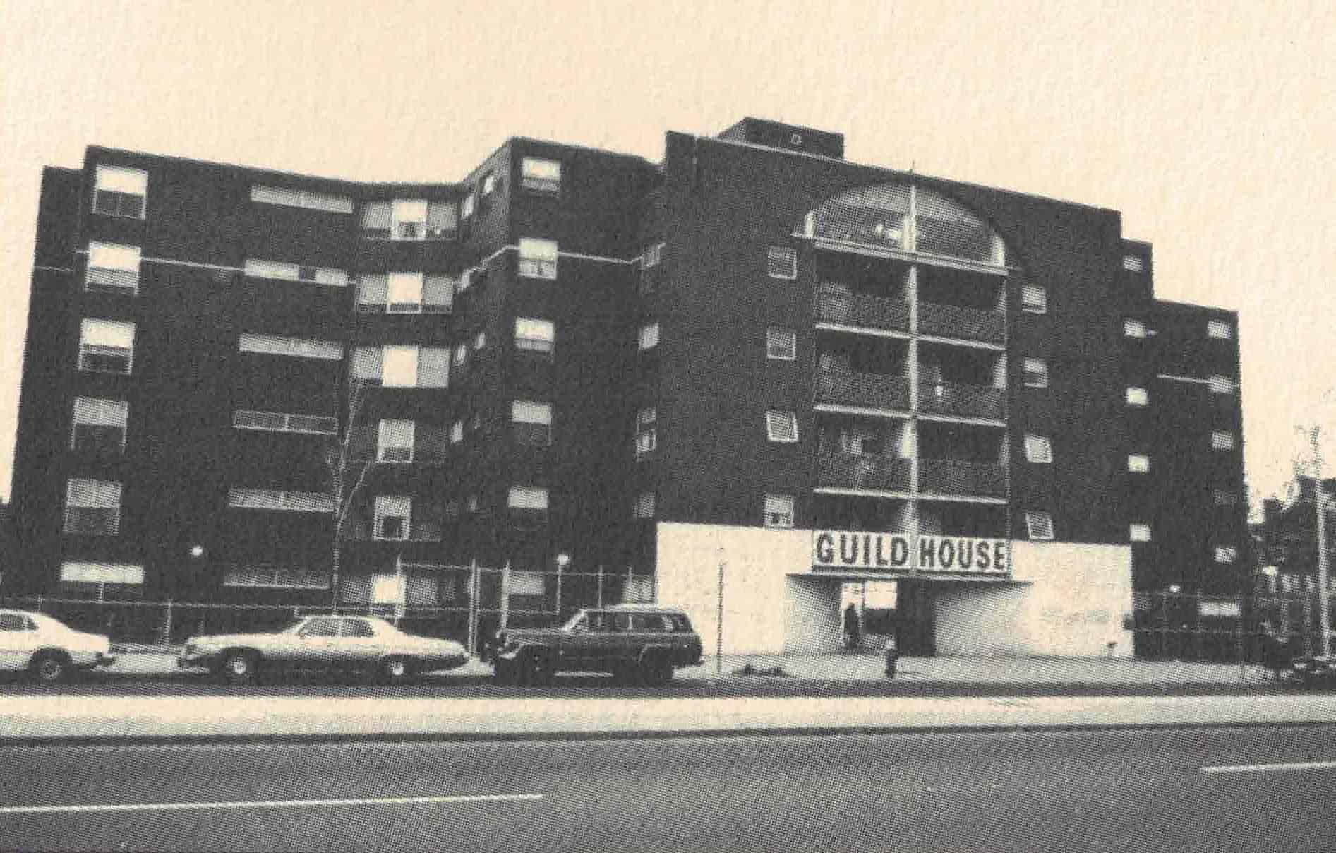Figura 12. Venturi e Rauch, Guild House, Filadélfia, 1963