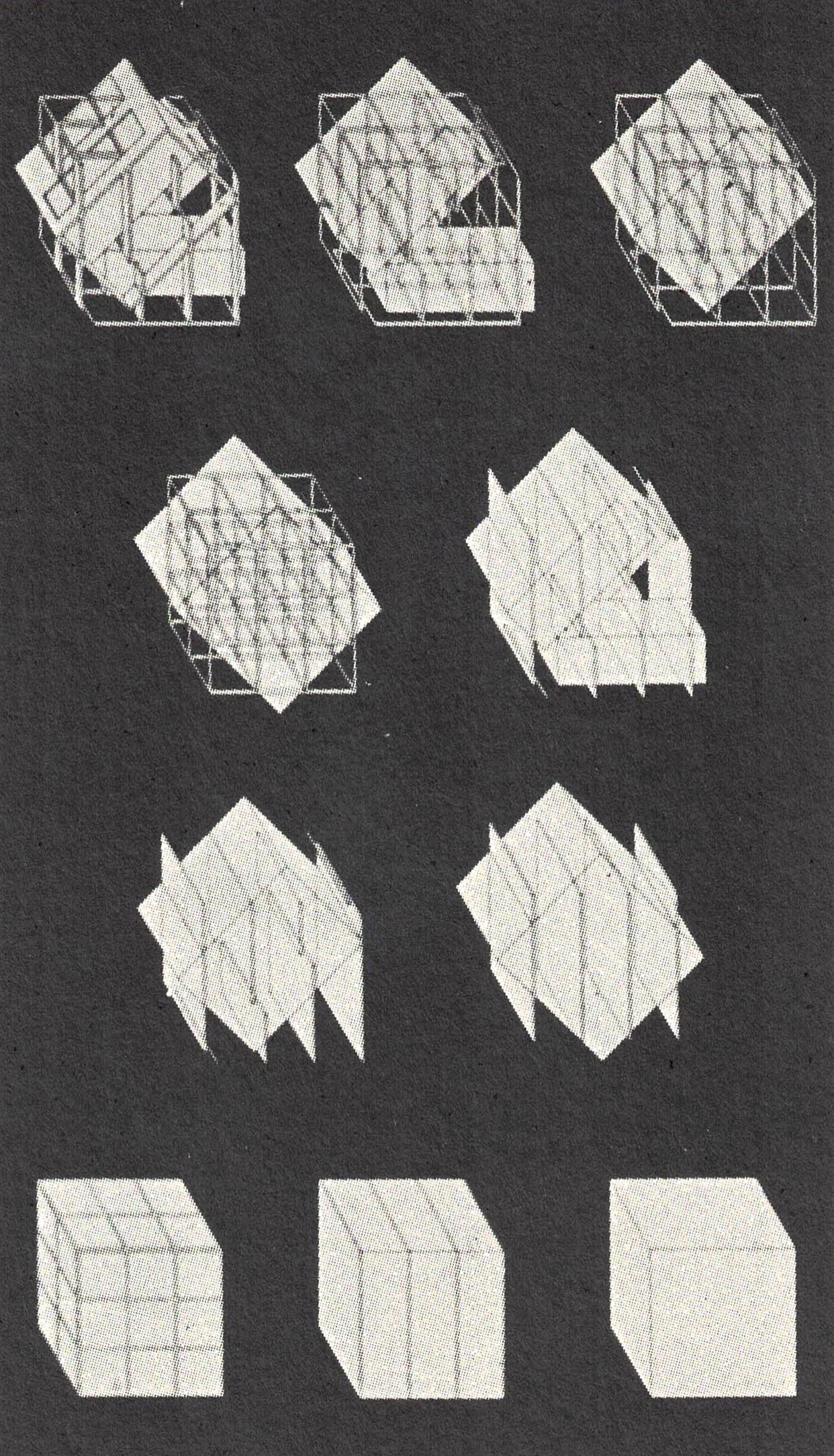 """Figura 17. Eiseman, Esquemas de """"decomposição"""" para Casa III"""