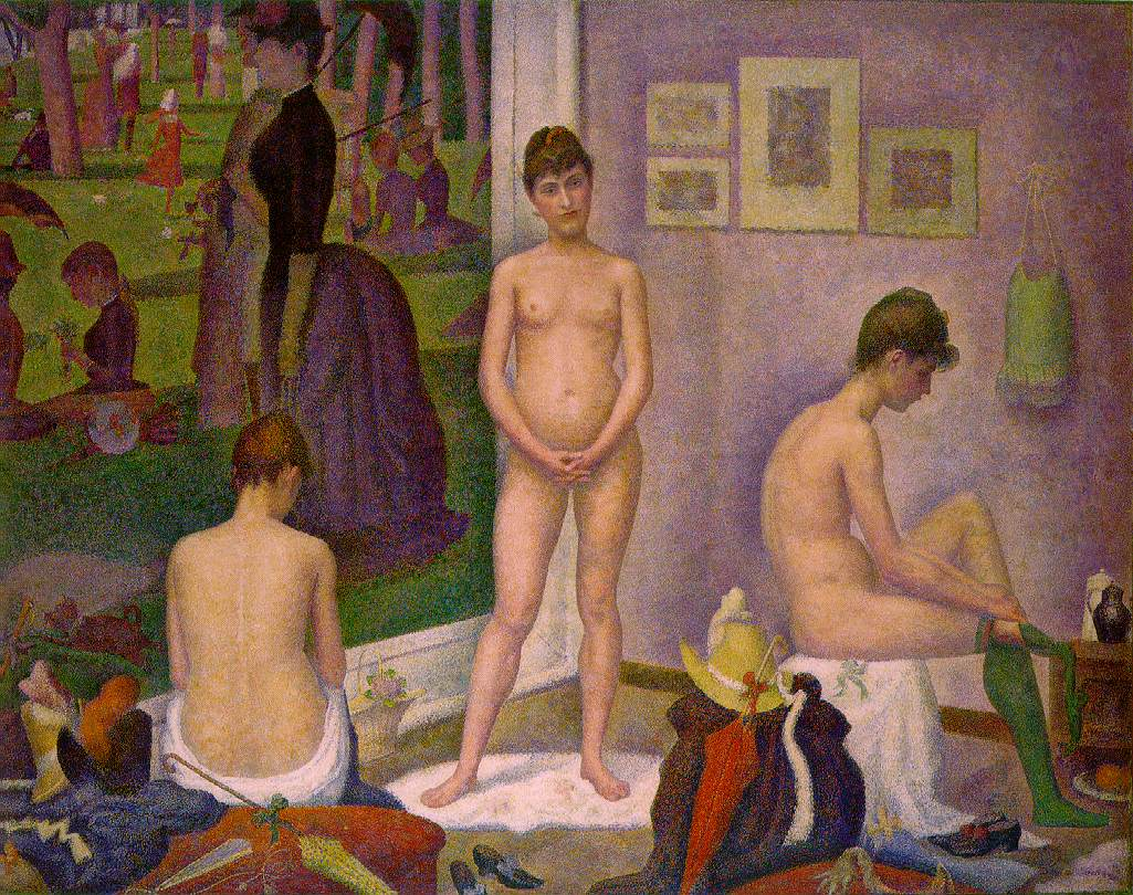 Figura 3. Georges Seurat, Les Poseuses
