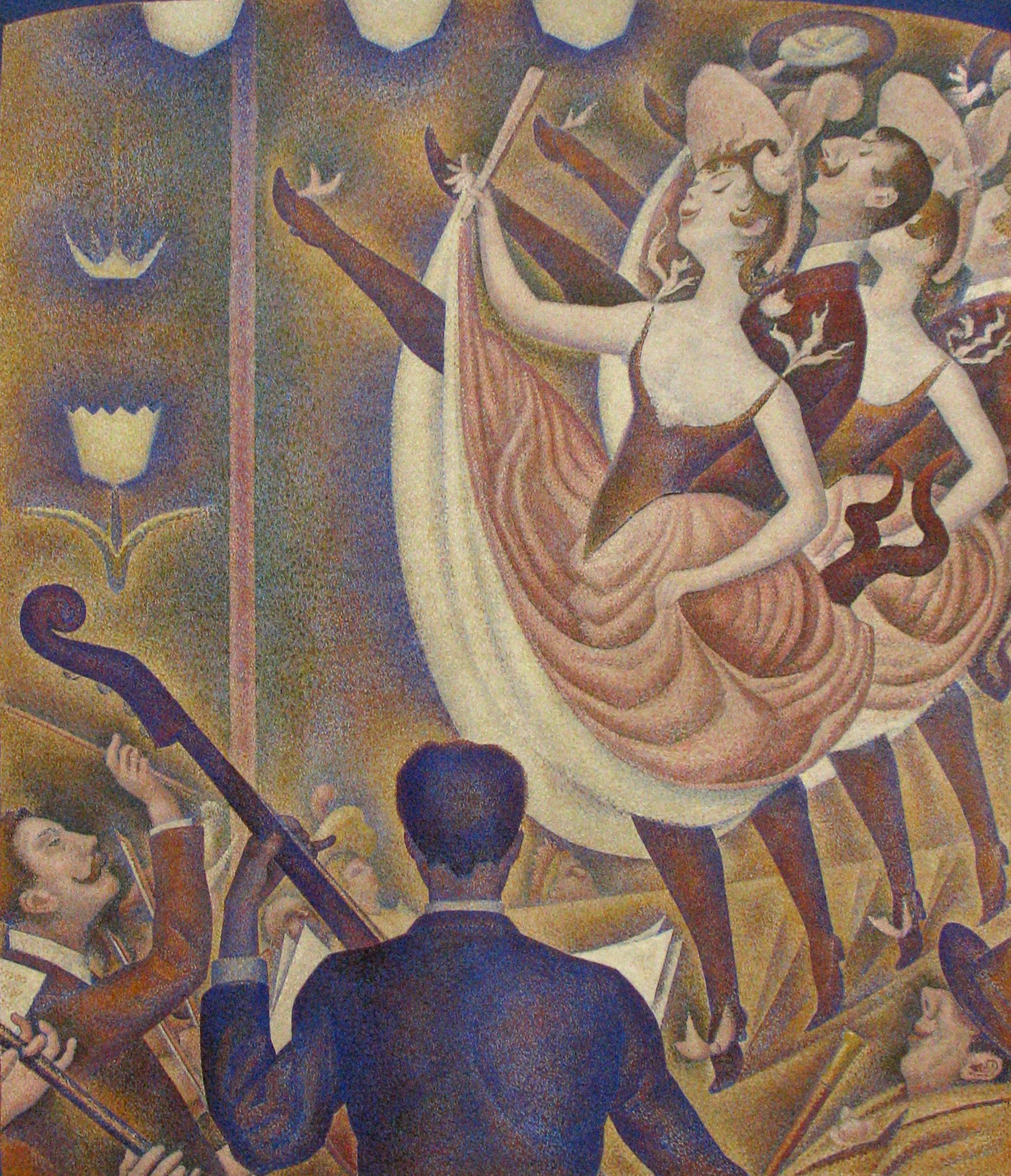 Figura 5. Georges Seurat, Le Chahut