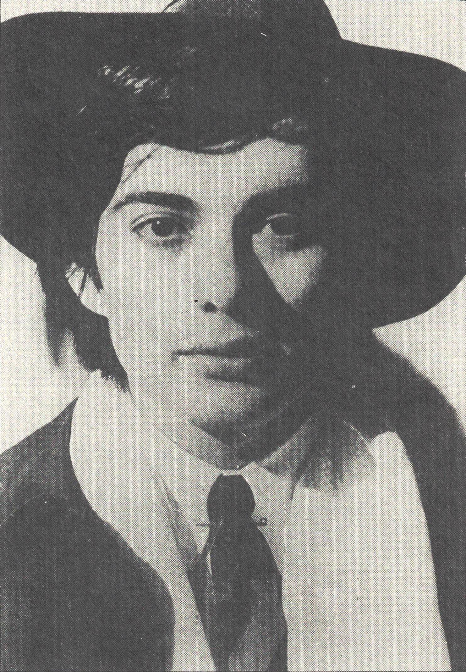 Figura 6. Roma de Fellini: Peter Gonzales, no papel de Fellini aos 18 anos
