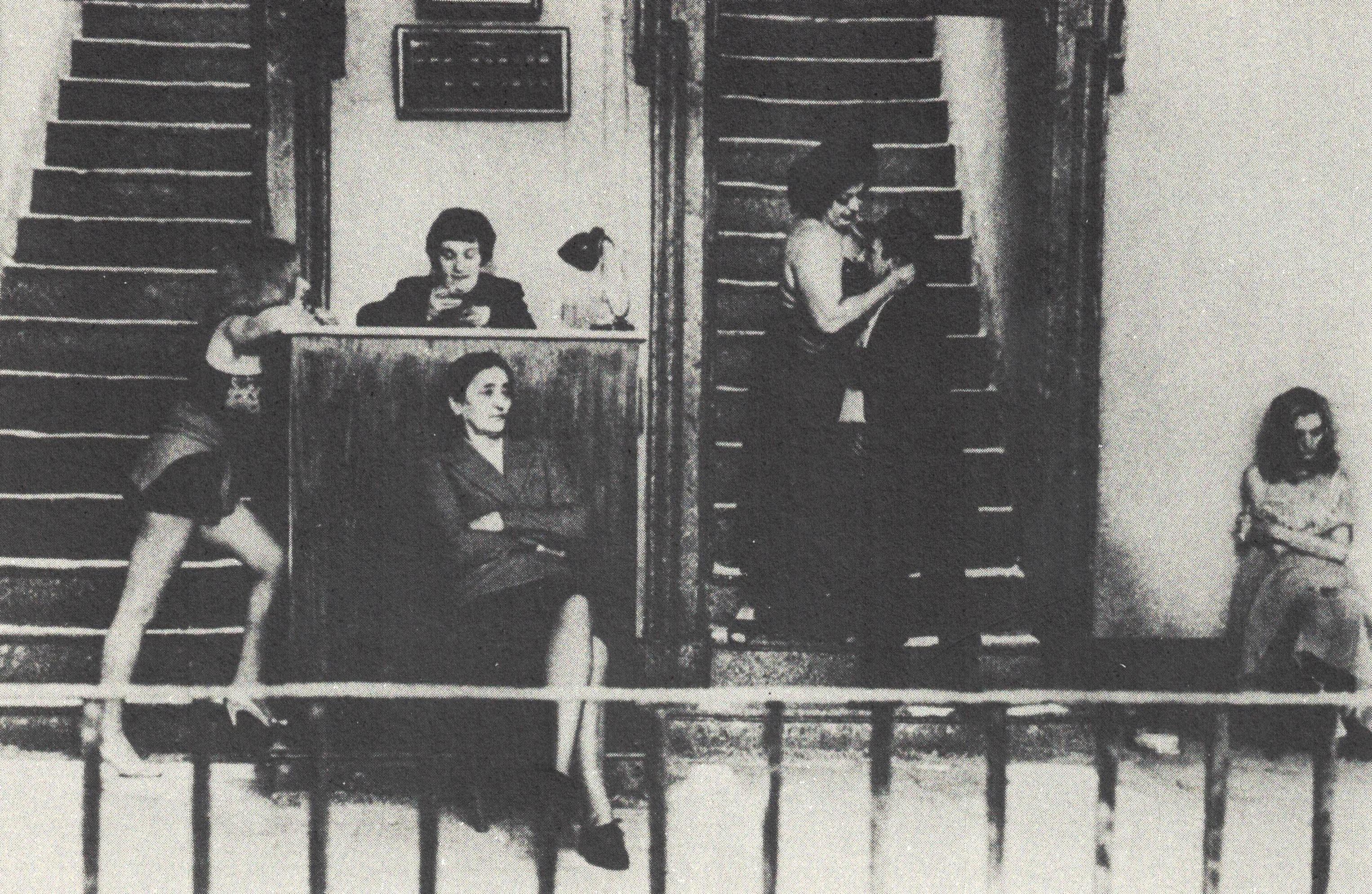 Figura 8. Roma de Fellini: prostitutas do bordel popular