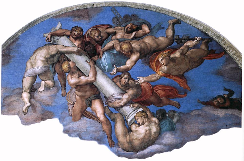 Figure 4. Detalhe de O Juízo Final (1537-41). Capela Sistina, Vaticano.