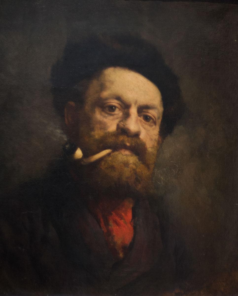 Figura 11 - O homem com o cachimbo