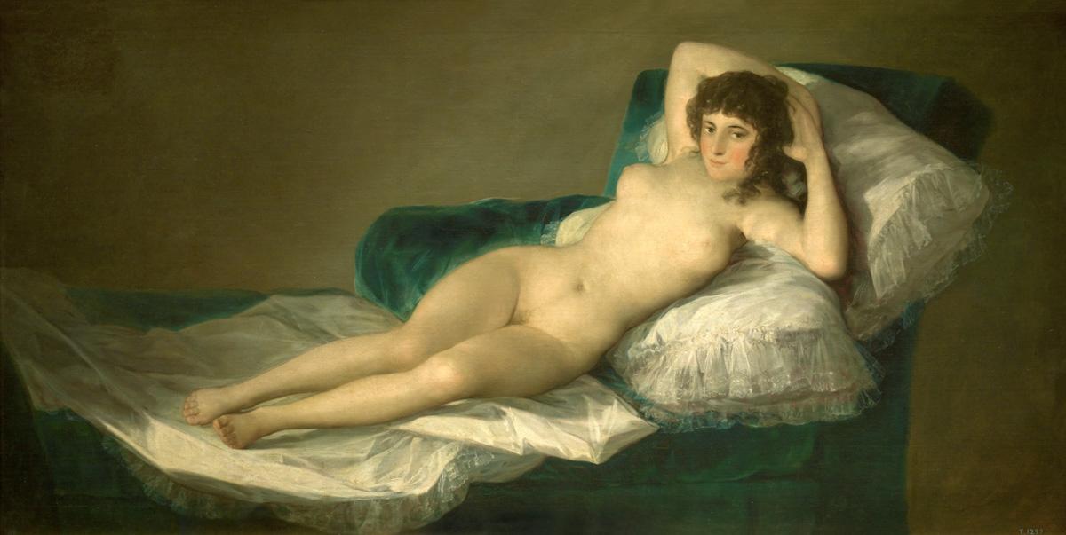 Figure 13. Goya, Maja nua.