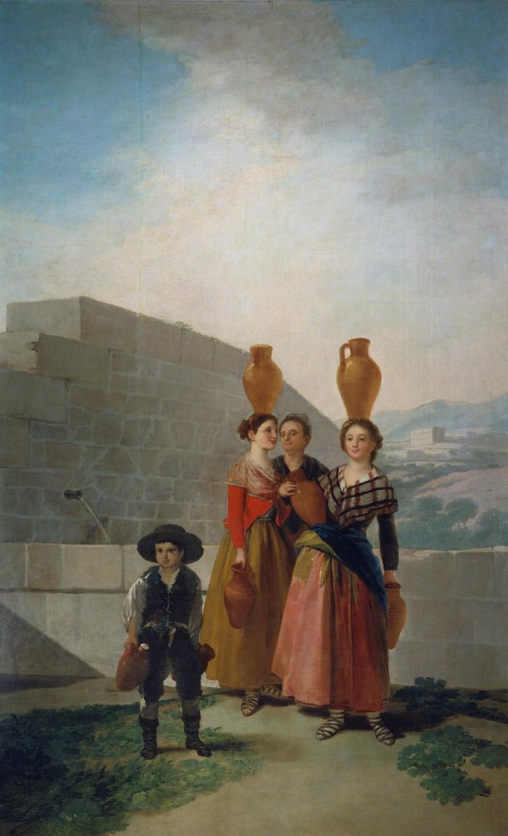Figure 1. Goya, Moças com cântaros.