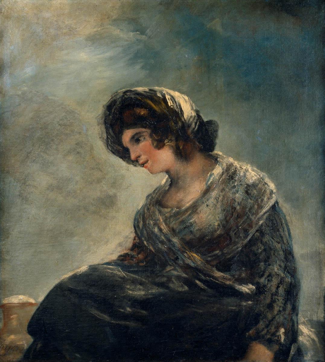 Figure 21. Goya, A leiteira de Bordeaux.