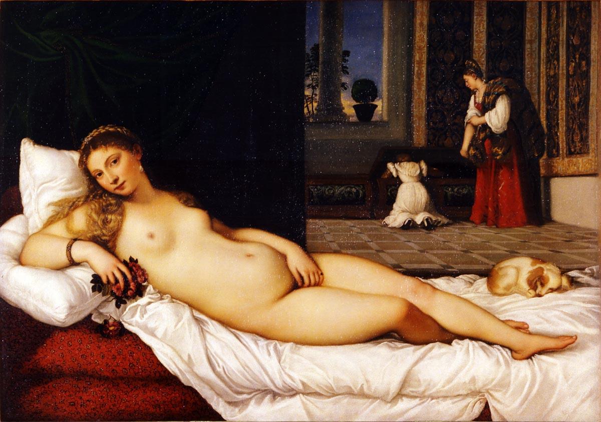 Figura 14 - Ticiano, Vênus de Urbino.