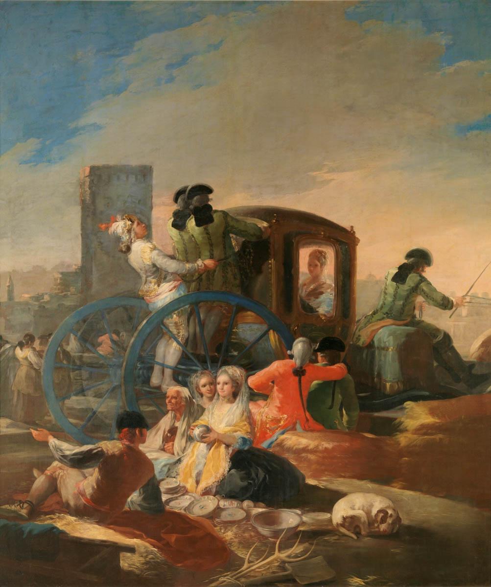 Figure 3. Goya, Venda de cerâmicas.