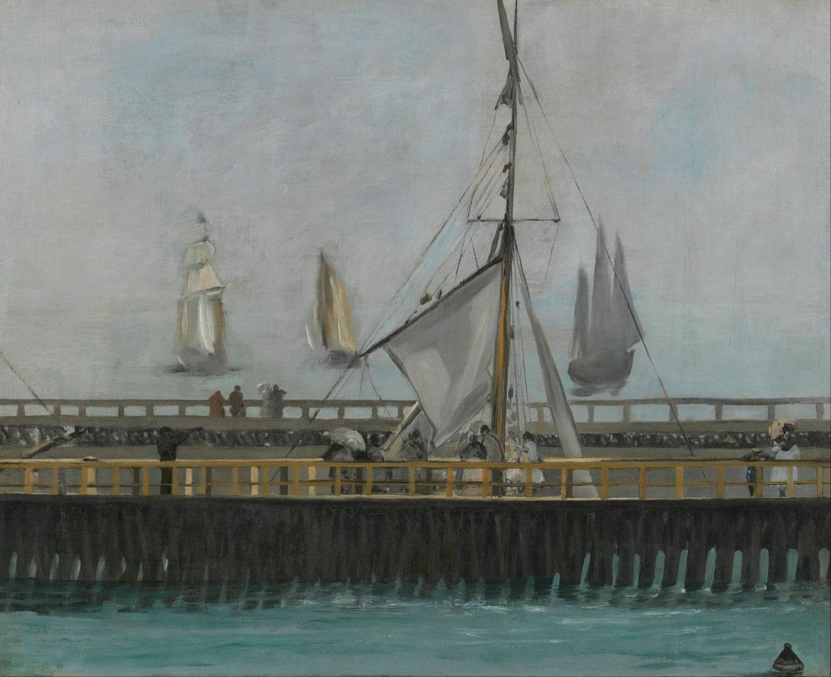 Figura 4 - Édouard Manet, O molhe de Boulogne.