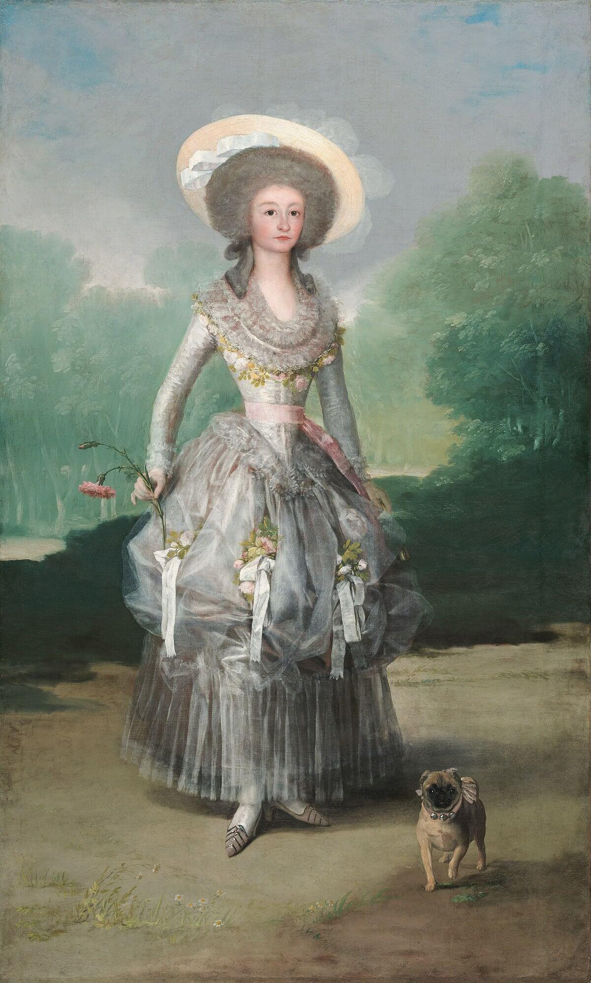 Figure 5. Goya, Marquesa de Pontejos.