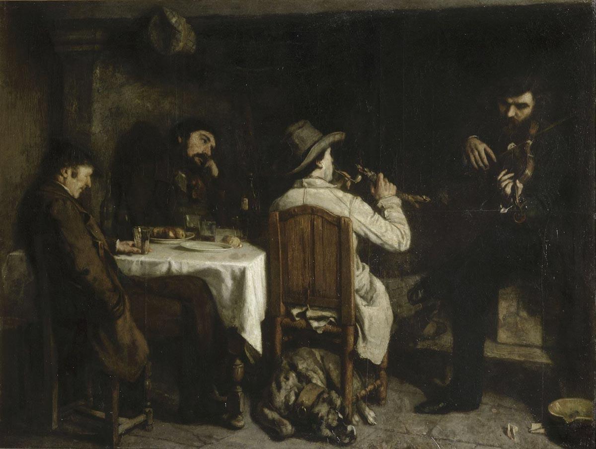 Figura 7 - Depois do jantar em Ornans