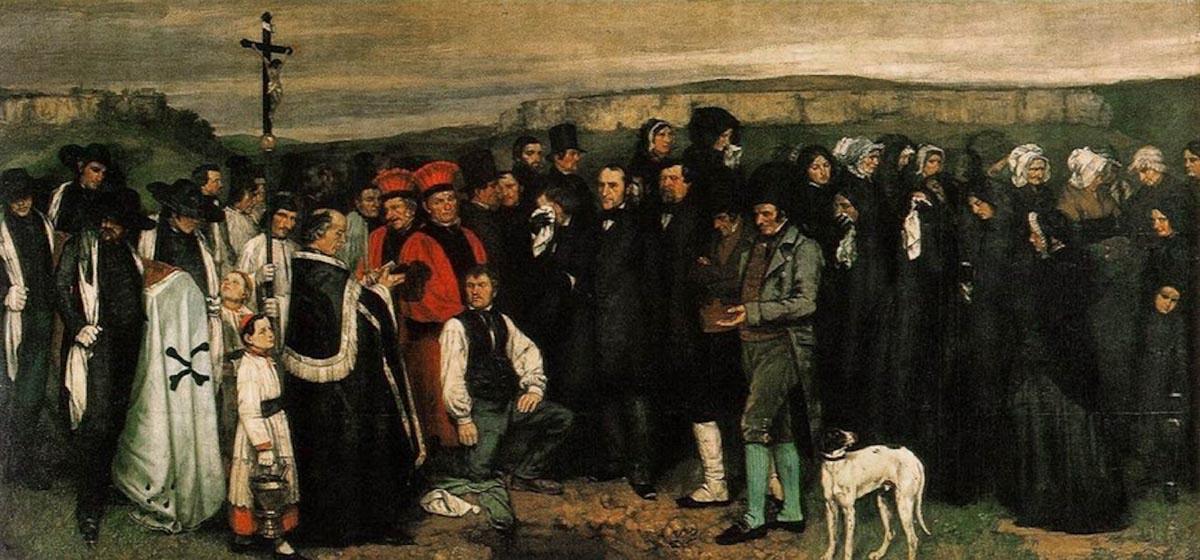 Figura 8 - Enterro em Ornans