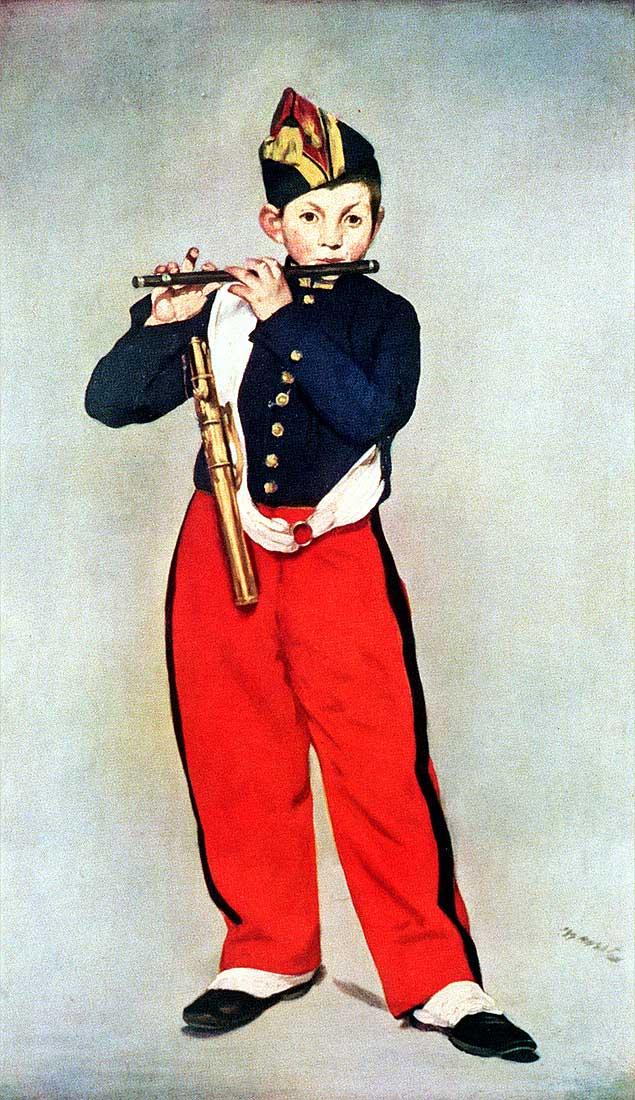 Figura 8 - Édouard Manet, O pífaro.