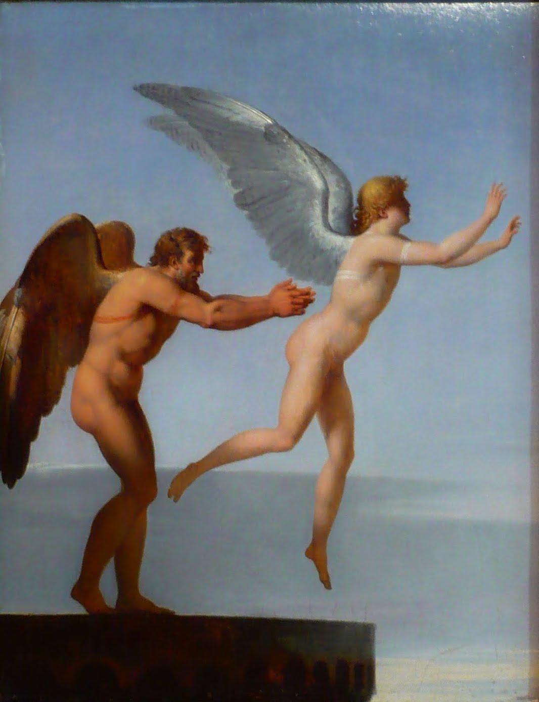 Figura 14 - Charles-Paul Landon, Dédalo e Ícaro