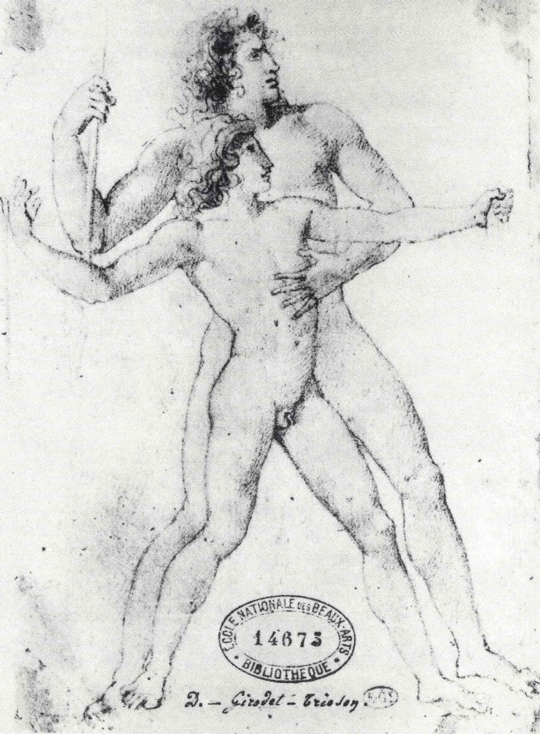 Figura 15 - Anne-Louis Girodet, A educação de Aquiles