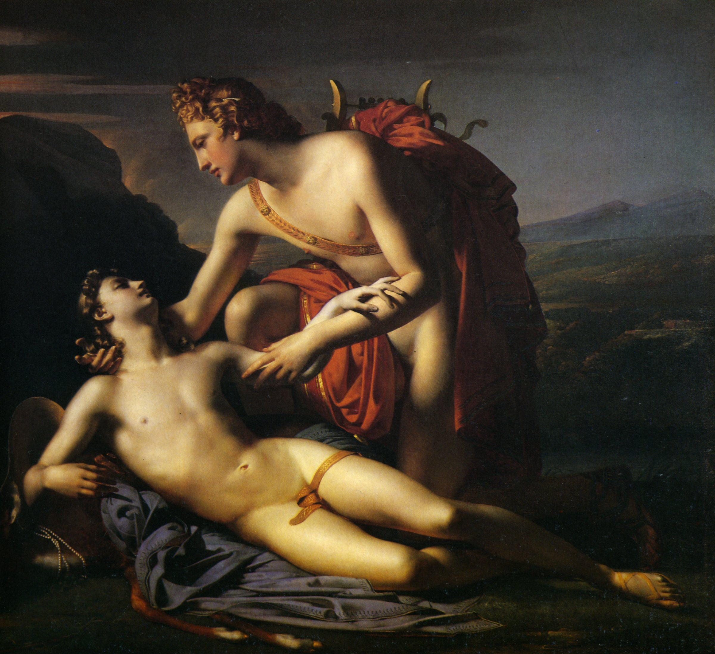 Figura 17 - Claude Marie Dubufe, Apolo e Ciparisso