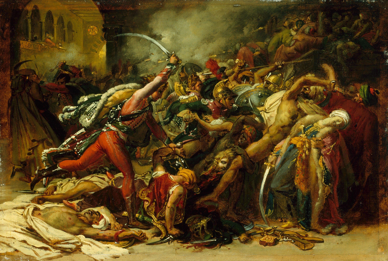Figure 18 - Anne-Louis Girodet, A revolta de Cairo