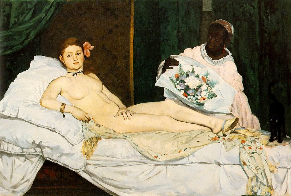 Figura 3 - Édouard Manet, Olímpia.