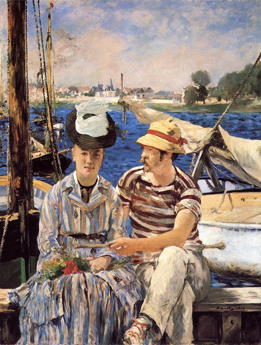 Figura 10 - Édouard Manet, Argenteuil.