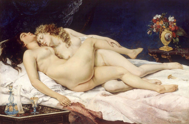 Figura 15 - Gustave Courbet, O sono (ou A preguiça e a Volúpia)