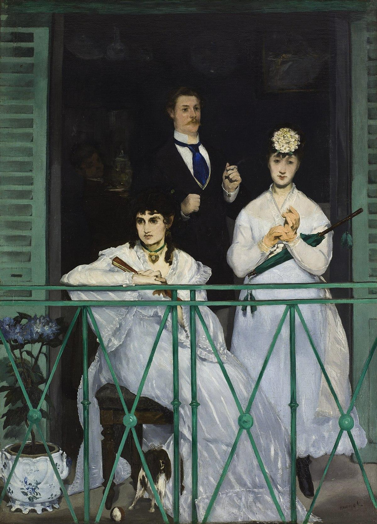 Figura 22 - Édouard Manet, O balcão.
