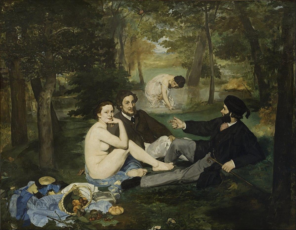 Figura 23 - Édouard Manet, O almoço na relva.
