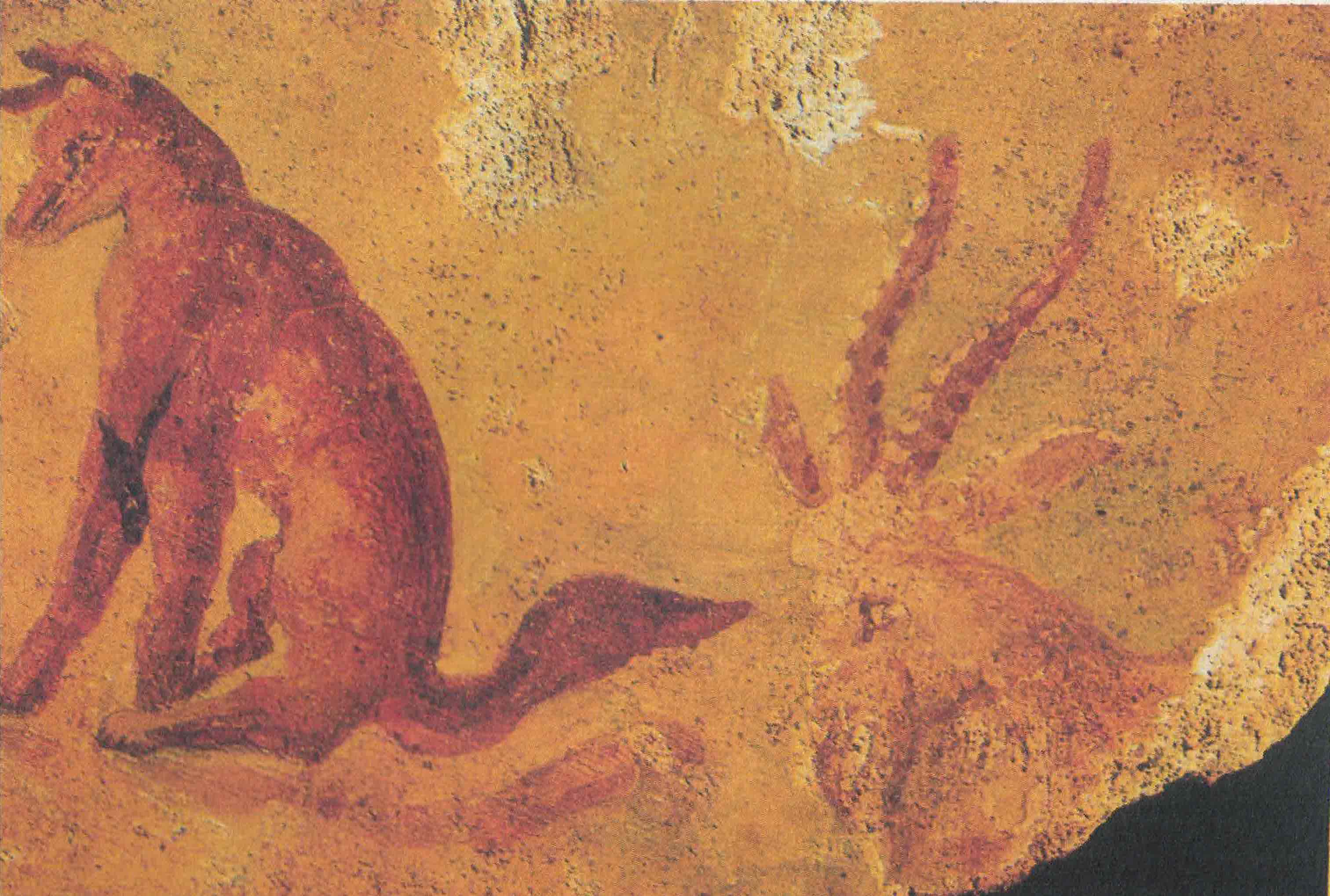 Figura 1 - Cena da raposa e o antílope (primeira metade do séc. II d.C). Colônia, Museu Romano-Germânico