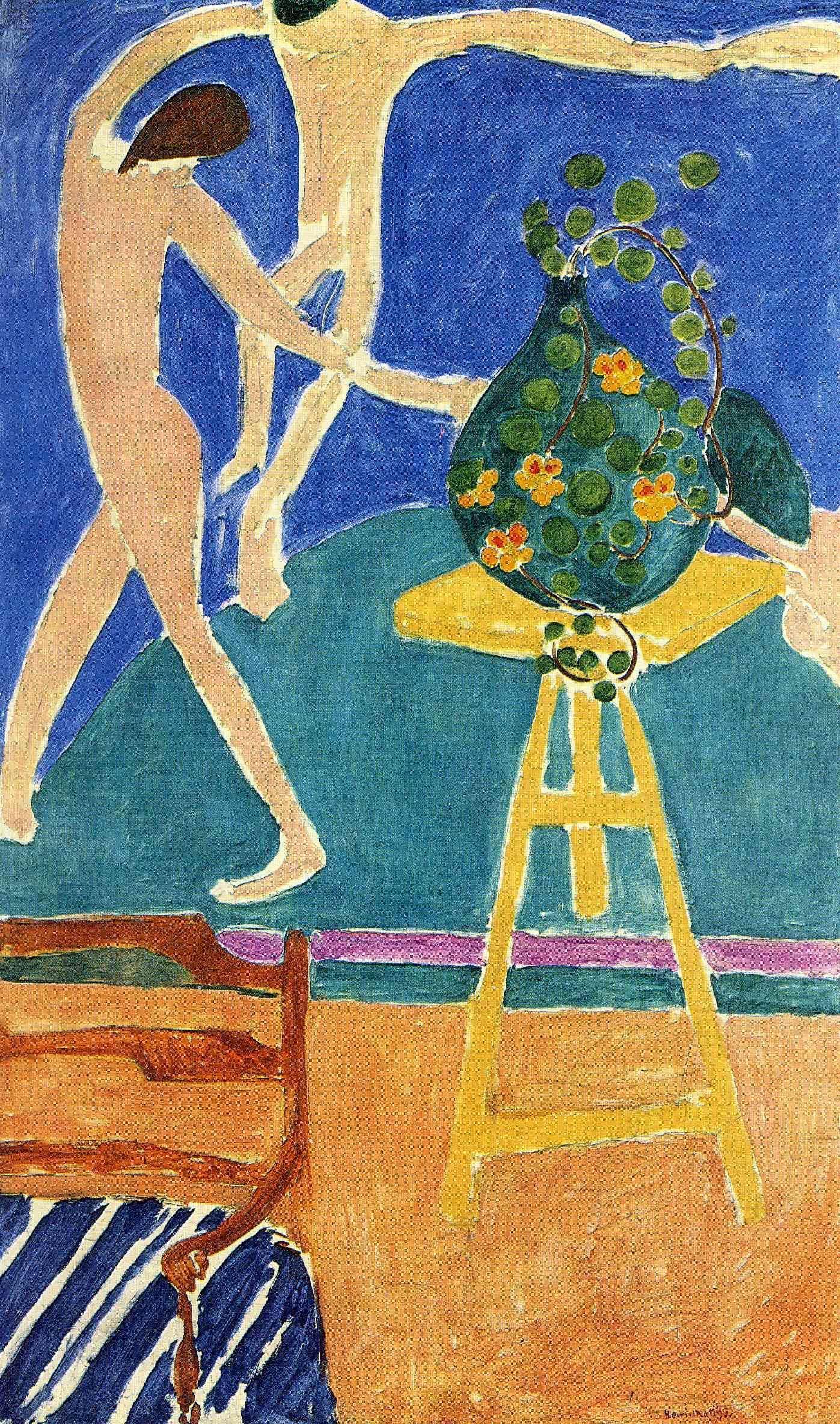 Figure 5 - As capuchinhas com a dança II (1912). Moscou, Museu Pushkin.