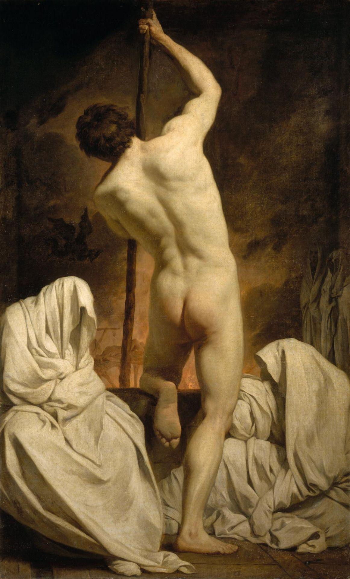 Figura 7 - Pierre Soubleyras, Caronte passando as sombras