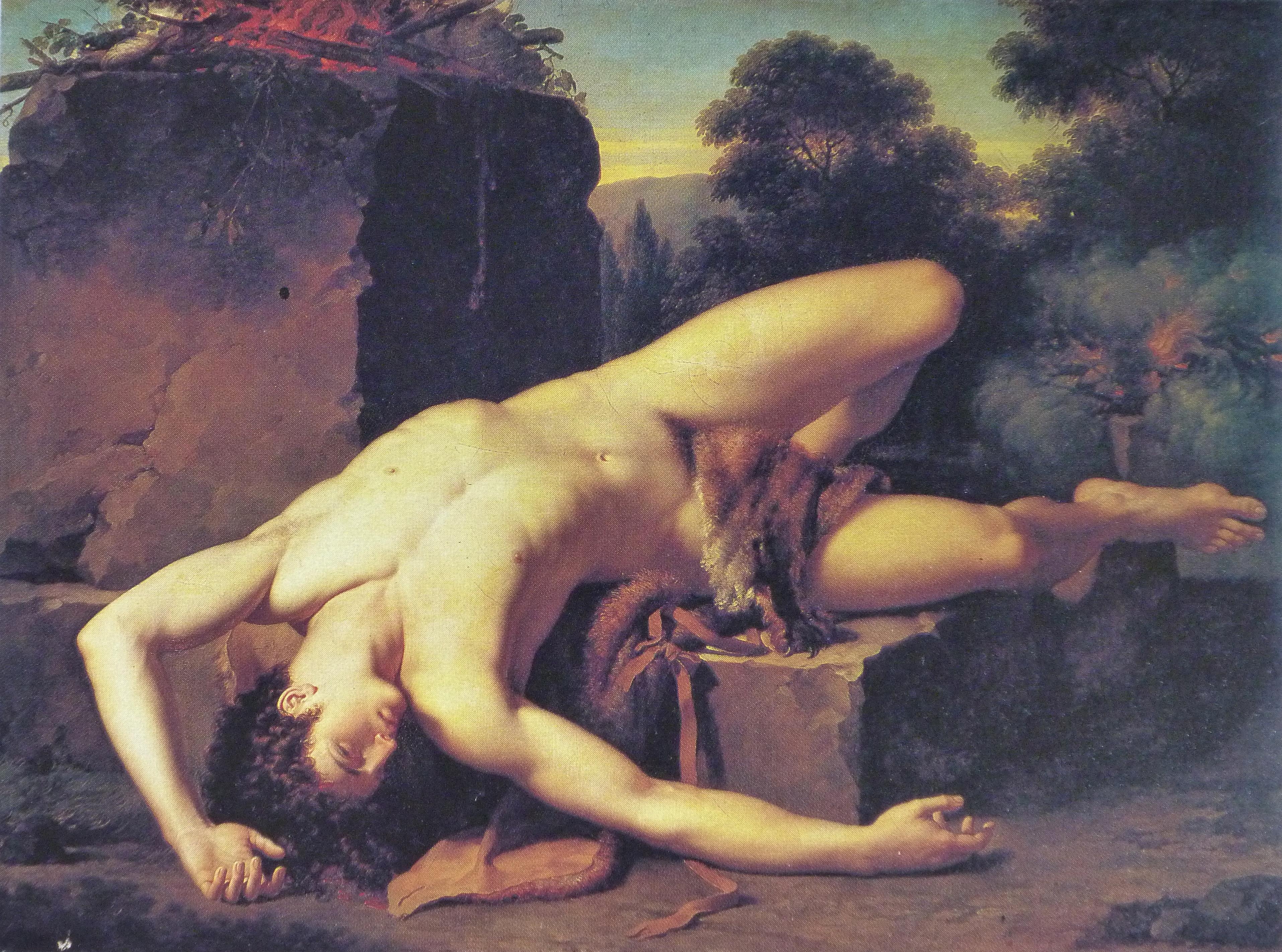 Figura 9 - François-Xavier Fabre, Morte de Abel
