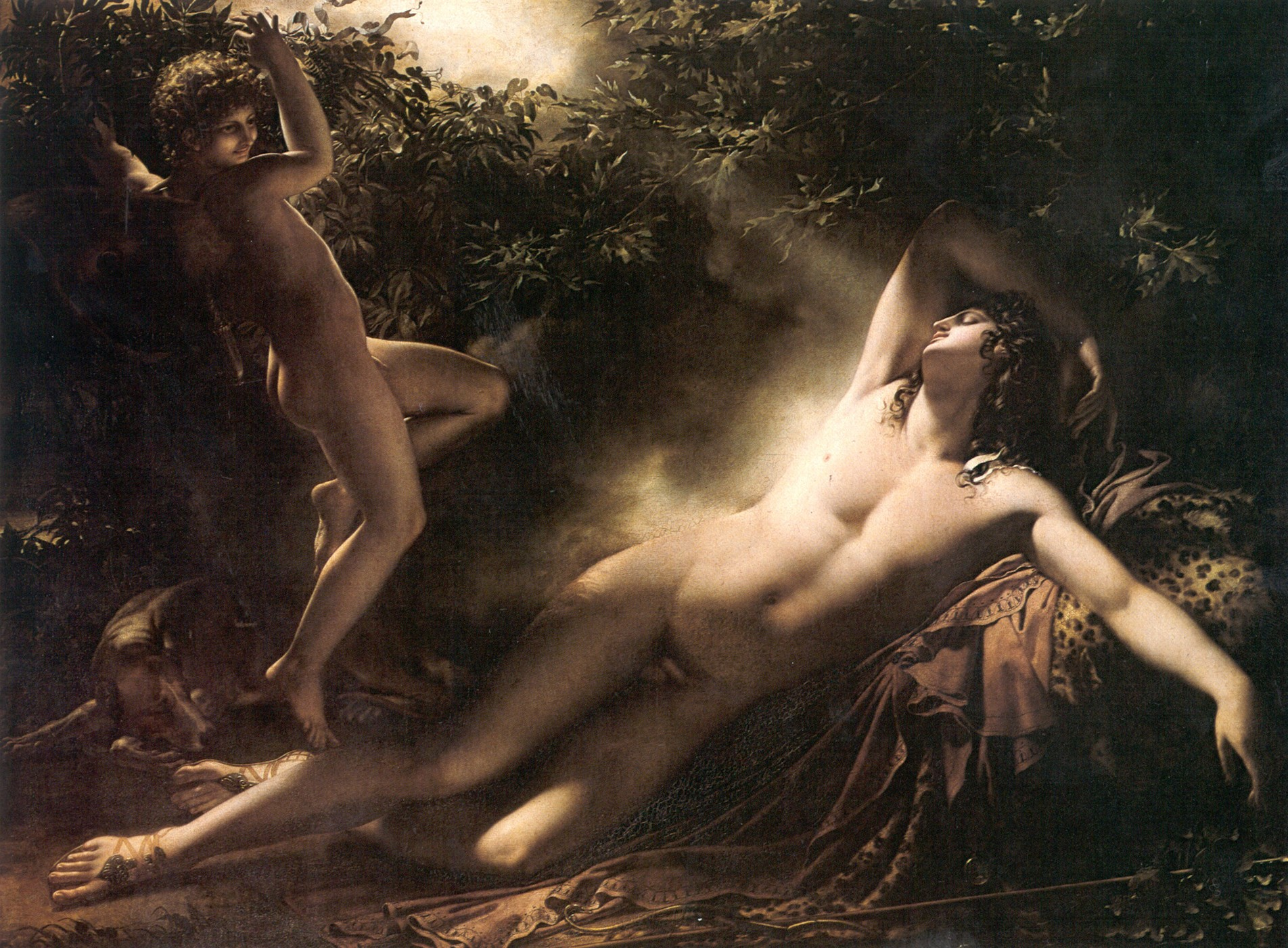Figura 10 - Anne-Louis Girodet. O sono de Endimião